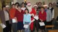 Visite de Noël au centre d'Accueil, le 10 décembre 2006