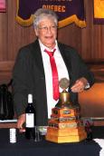 Jeannine Lapierre 32e présidente et première femme à ce poste du club optimiste de Vaudreuil Inc.