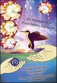 Bannière D.C.Q. 2011-2012 Nicole Martineau