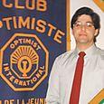 Michel Hudon 5e président du club optimiste Vaudreuil Inc. 1981-1982