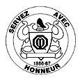 Année 1986-1987 Thème: Servez avec Honneur, gouverneur Jacques Boire et Lise.