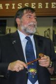 Pierre Dolbec 34e président du club optimiste de Vaudreuil-Dorion.