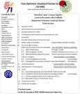 Ordre du jour 29 octobre 2012