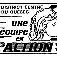 Année1989-1990 Thème: Une équipe en Action, gouverneure Paul St-Jacques et Carole.