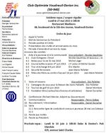 Ordre du jour 27 mai 2013