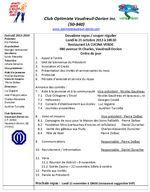 Ordre du jour 21 octobre 2013