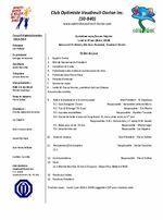 Ordre du jour 19 mai 2014