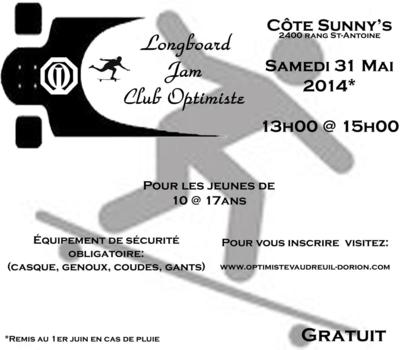 Longboard 2014 club optimiste Vaudreuil-Dorion