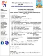 Ordre du jour club optimiste de Vaudreuil-Dorion 24 novembre 2014