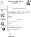 Convocation à l'assemblée générale annuelle du club optimiste Vaudreuil-Dorion