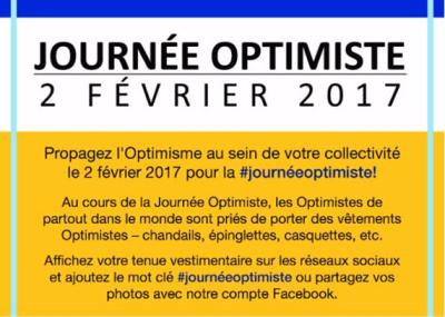 Journée optimiste 2 février 2017 - club optimiste Vaudreuil-Dorion