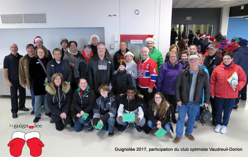 Club optimiste Vaudreuil-Dorion Guignolée 2017 -