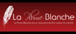 Restaurant La Plume Blanche.