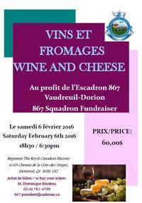 Vin et Fromage Escadron 867 Vaudreuil-Dorion - Club optimiste Vaudreuil-Dorion