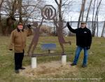 1-Installation de la stèle du club optimiste Vaudreuil-Dorion 23 novembre 2017 (1)