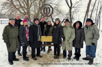 Inauguration de la stèle club optimiste Vaudreuil-Dorion  18 décembre 2017 (8)-1