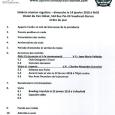 Ordre du jour 6e réunion régulière, dimanche 14 janvier 2018 club optimiste Vaudreuil-Dorion