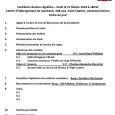 Ordre du jour  8e souper régulier le lundi 12 février 2018  club optimiste Vaudreuil-Dorion.