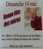 Fête des Mères  Centre d'accueil Vaudreuil  le dimanche 14 mai 2017  club optimiste Vaudreuil-Dorion (1)