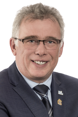 Patrick Bousez président d'honneur 2018