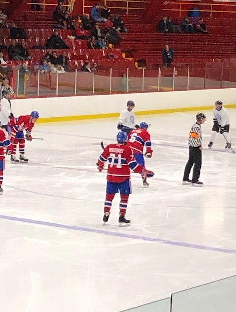 La tournée des Anciens Canadiens de Montréal  le dimanche 25 novembre 2018 -1