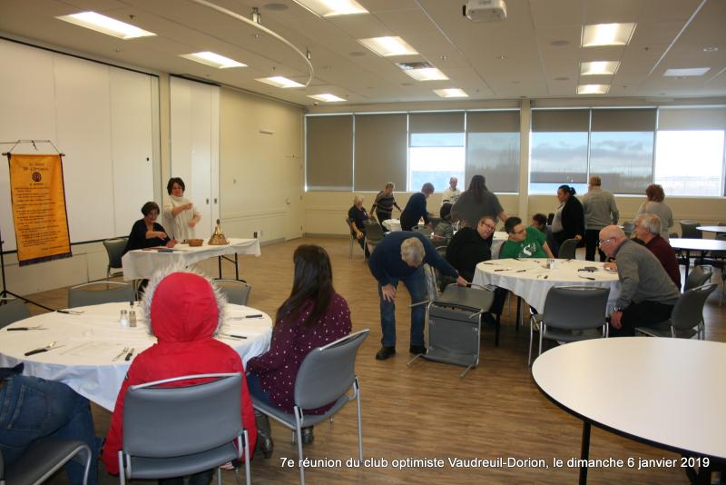 7e réunion du club optimiste Vaudreuil-Dorion  le dimanche 6 janvier 2019 (3)