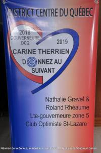 Réunion de la Zone 5  le mardi 6 novembre 2018  Multisports Vaudreuil-Dorion.