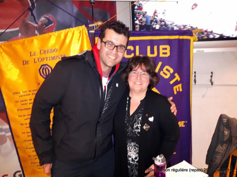 10e réunion régulière (repas) 25 février 2019  club optimiste Vaudreuil-Dorion (1)