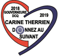 Logo Carine Therrien Gouverneure 2018-2019 DCQ