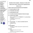 Ordre du jour club optimiste Vaudreuil-Dorion 21 octobre 2018
