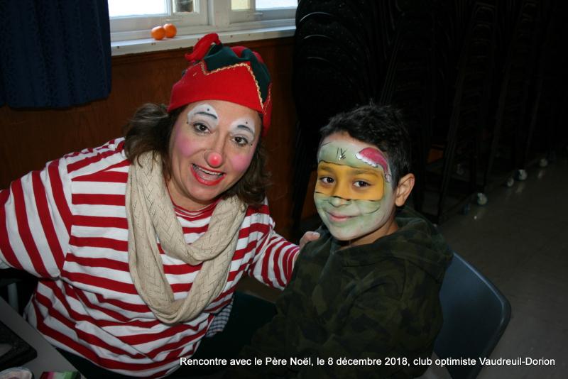 Père Noël  le 8 décembre 2018  club optimiste Vaudreuil-Dorion (45)