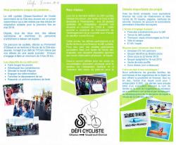 Défi cycliste Ottawa - Vaudreuil-Dorion ESCJ 2019