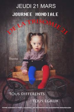 Journée Mondiale de la Trisomie 21 crédit photo Nouvelle de France