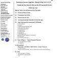 Ordre du jour, 15e réunion (repas) club optimiste Vaudreuil-Dorion 14 mai 2019