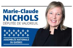 Marie-Claude Nichols Députée de Vaudreuil Assemblée Nationale Québec -
