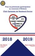 Concours jeunesse 2018-2019 cerificat