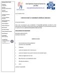CONVOCATION À L'ASSEMBLÉE GÉNÉRALE ANNUELLE jeudi 28 novembre 2019 club optimiste Vaudreuil-Dorion