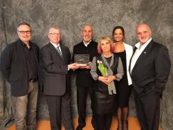 Jean-Pierre Champagne  a reçu le prix Claude Marchessault