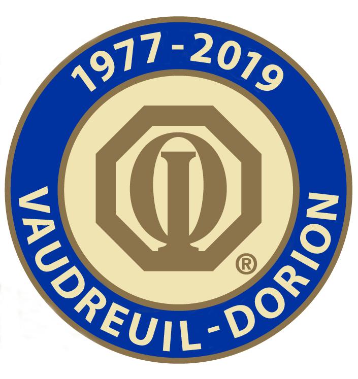 Club optimiste Vaudreuil-Dorion Lettrage Myriad Pro Bold Majuscule