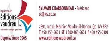 Imprimerie des édition Vaudreuil inc