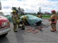Simulation d'accidents  le 21 mai 2019  club optimiste Vaudreuil-Dorion (30)