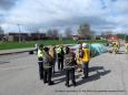 Simulation d'accidents  le 21 mai 2019  club optimiste Vaudreuil-Dorion (37)