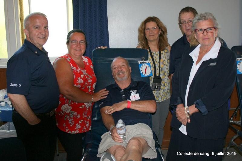 -Collecte de sang club optimiste Vaudreuil-Dorion 8 juillet 2019   (2)