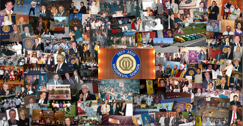 Club optimiste Vaudreuil-Dorion  40 ans d'histoire  dans la communauté