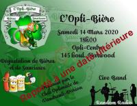 L'Opti-Bière samedi 14 mars 2020 club optimiste Vaudreuil-Dorion copie