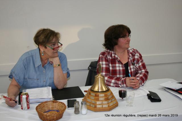 12e réunion du club optimiste Vaudreuil-Dorion mardi 26 mars 2019 (3)