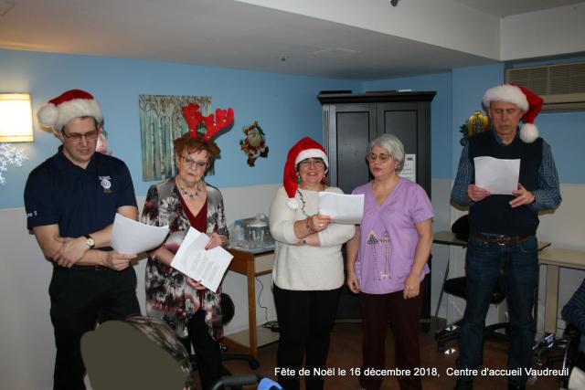 Fête de Noël  le 16 décembre 2018   Centre d'accueil Vaudreuil  (18)